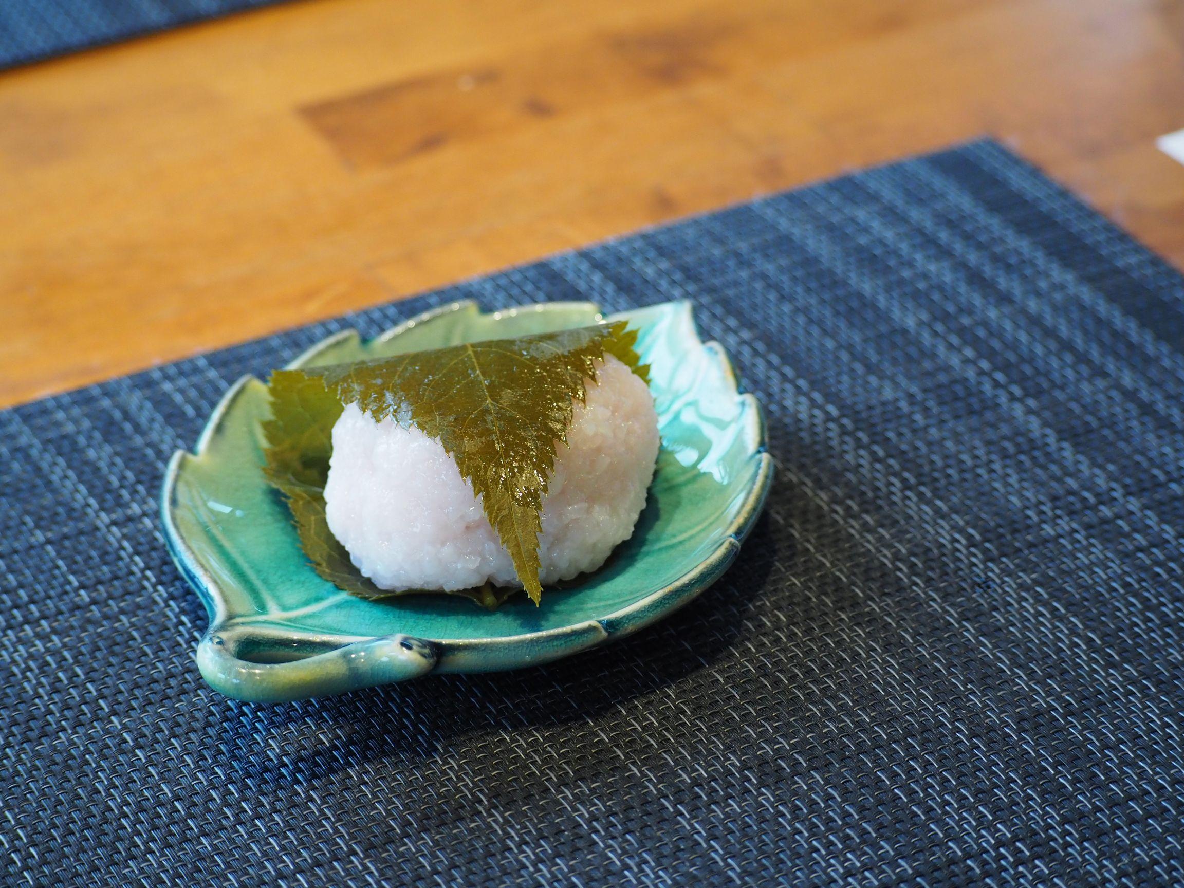 桜川市、桜餅づくり体験